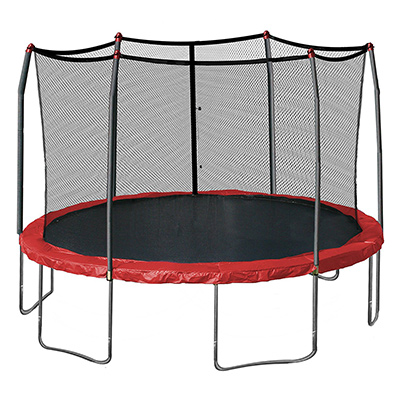 Best Trampoline Brands Skywalker 15-Ft Round Trampoline with Spring Pad