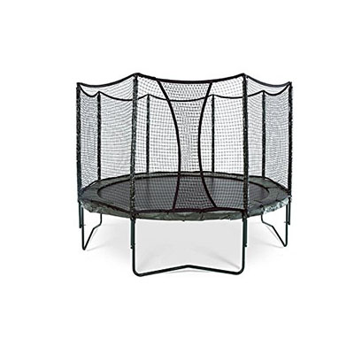 Best Trampolines for Adults JumpSport AlleyOOP VariableBounce Trampoline with Enclosure