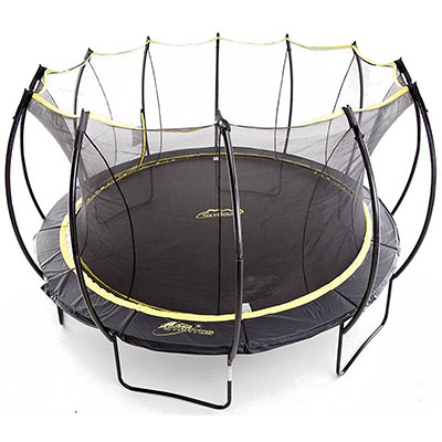 Best Trampolines for Adults SkyBound Stratos Trampoline with Full Enclosure Net System