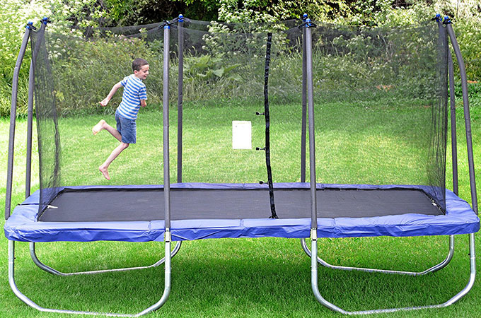Skywalker Rectangle Trampoline with Enclosure 15 Feet – 2018 Review