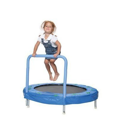 Best Toddler Trampolines with Handle Bazoongi 48-Inch Bouncer Trampoline