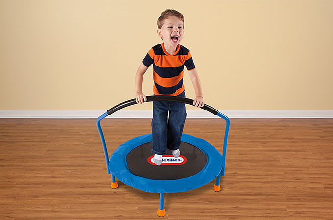 Best Toddler Trampolines with Handle: 2018 Review