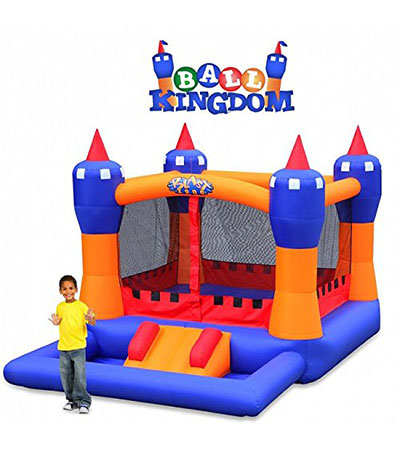 Best Bounce Houses Blast Zone Ball Kingdom Inflatable Bounce House with Balls Pit
