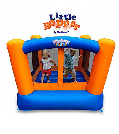 Best Bounce Houses Blast Zone Little Bopper Inflatable Bouncer