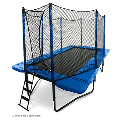 Best Trampolines for Gymnastics Jumpsport 10'x17' StagedBounce