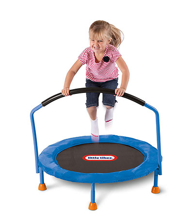 Best Toddler Trampolines with Handle Little Tikes 3' Trampoline