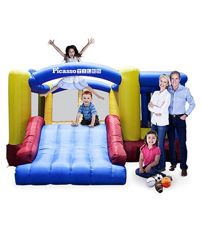 Best Bounce Houses PicassoTiles KC102 12x10 Foot Inflatable Bouncer