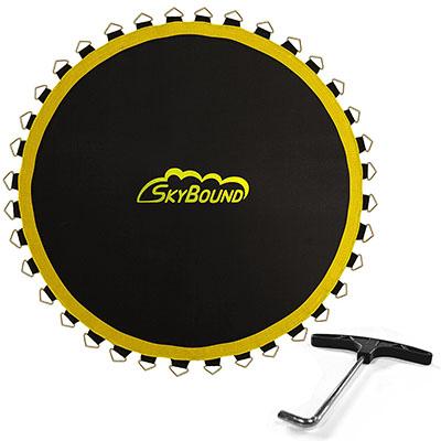Best Trampoline Accessories SkyBound Premium Trampoline Replacement Mats with SunGuard