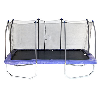 Best Trampolines for Gymnastics Skywalker Rectangle Trampoline with Enclosure
