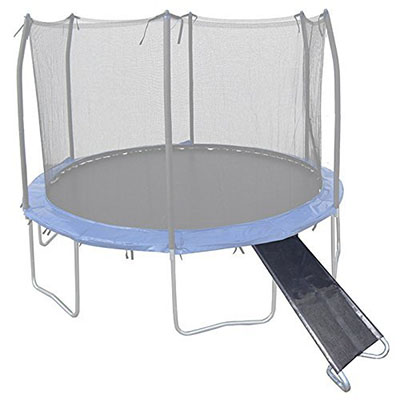 Cool Trampoline Games and Accessories for Your Family Wide 3-Step Trampoline Ladder