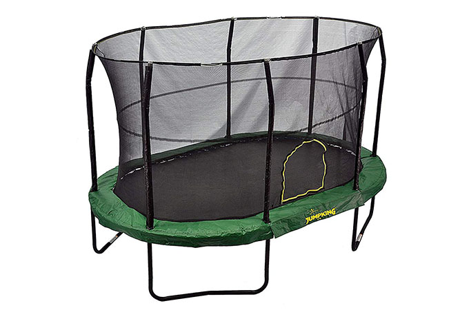 JumpKing Oval Trampoline – Review