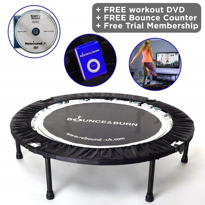 MXL MaXimus Life Bounce & Burn Mini Trampoline