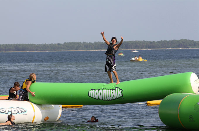 Best Inflatable Water Trampolines - 2018 Review