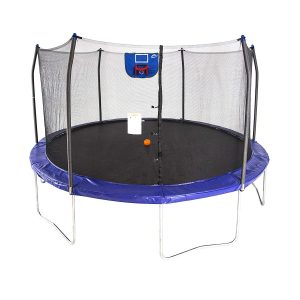 product photo of Skywalker Trampolines 15-Foot Jump N' Dunk Trampoline